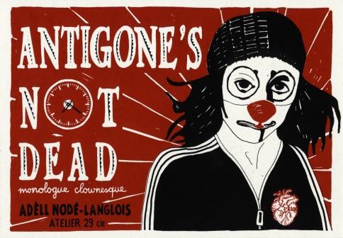 Antigone's not dead • Paille • © Adèll Nodé-Langlois / Atelier 29 Cie